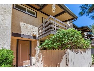 Encino Condo/Townhouse For Sale: 4832 Balboa Avenue #A