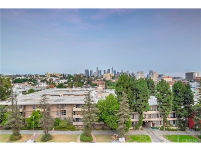 Los Angeles Condo/Townhouse For Sale: 421 South La Fayette Park Place #403