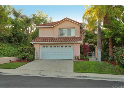 Calabasas Single Family Home For Sale: 24763 Calle Largo