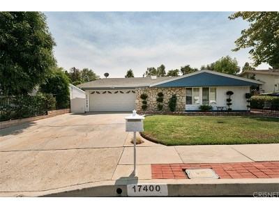 Granada Hills Single Family Home For Sale: 17400 Trosa Street