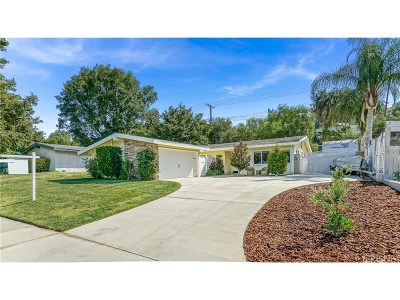 Saugus Single Family Home For Sale: 27166 Seco Canyon Road