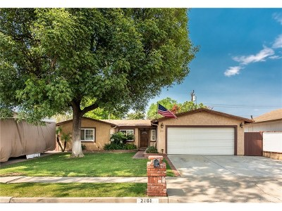 Simi Valley Single Family Home For Sale: 2161 Cutler Street