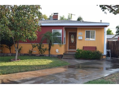 Reseda Single Family Home For Sale: 18154 Archwood Street