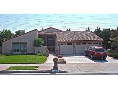 Porter Ranch Single Family Home For Sale: 10448 Garden Grove Avenue