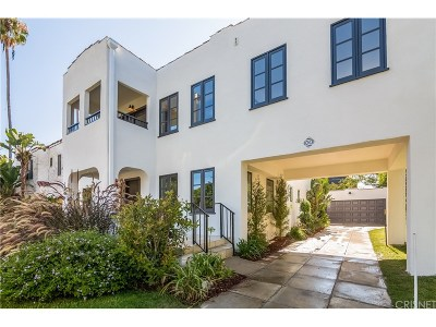 Los Angeles Single Family Home For Sale: 1206 South Sycamore Avenue