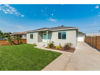 Long Beach Single Family Home For Sale: 6940 North Atlantic Place