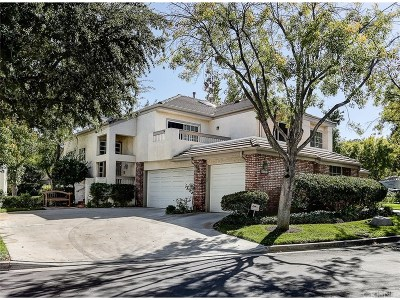 Los Angeles County Condo/Townhouse For Sale: 24516 Windsor Drive #B