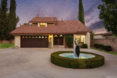 Porter Ranch Single Family Home For Sale: 18501 Dylan Street