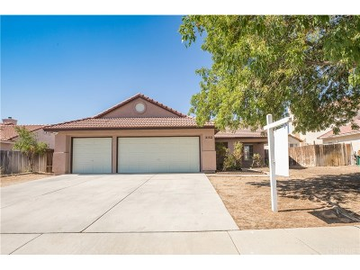 Palmdale Single Family Home For Sale: 3152 Jojoba