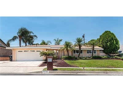 Northridge Single Family Home For Sale: 9731 Valjean Avenue