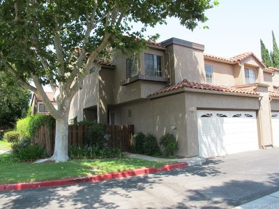 Simi Valley Condo/Townhouse For Sale: 5831 Cochran Street
