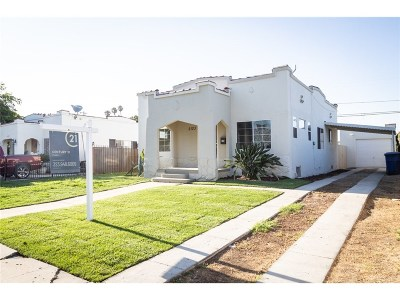 Los Angeles Single Family Home For Sale: 2123 West 74th Street
