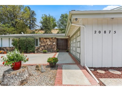 Woodland Hills Single Family Home For Sale: 20875 Kelvin Place