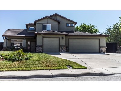 Lancaster Single Family Home For Sale: 42108 Pleasant View Drive