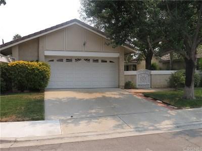Valencia Single Family Home For Sale: 23650 Bajada Drive