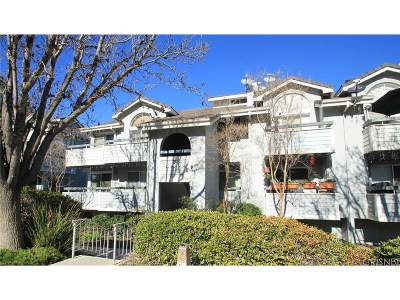 Canyon Country Condo/Townhouse For Sale: 26806 Claudette Street #321