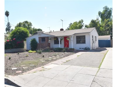 Reseda Single Family Home For Sale: 7011 Geyser Avenue