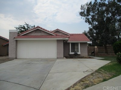 Palmdale Single Family Home For Sale: 37001 Justin Court