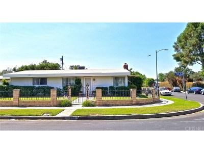 Single Family Home For Sale: 15278 Tuba Street