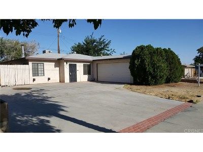 Palmdale Single Family Home For Sale: 37417 5th Street East