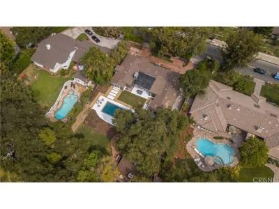 Encino Single Family Home For Sale: 4189 Hayvenhurst Avenue