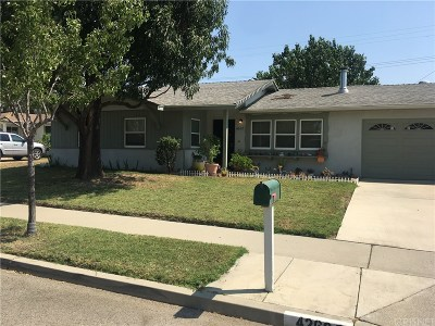 Simi Valley Single Family Home For Sale: 4260 Gertrude Street