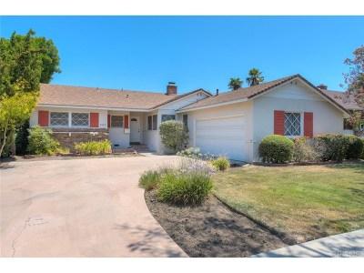 Tarzana Single Family Home For Sale: 6342 Bovey Avenue