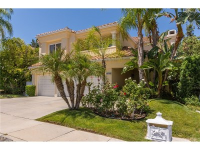 Calabasas Single Family Home For Sale: 4285 Park Verdi