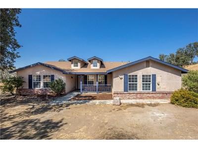 Tehachapi Single Family Home For Sale: 29610 Elkhorn Place