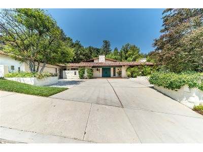 Calabasas Single Family Home For Sale: 23735 Park Belmonte