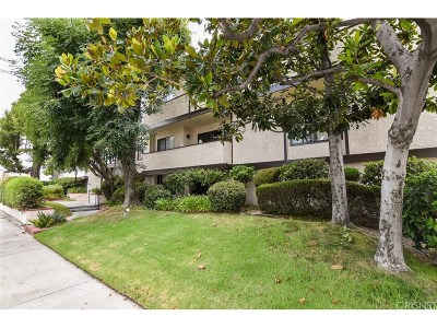 Valley Village Condo/Townhouse For Sale: 5805 Whitsett Avenue #204
