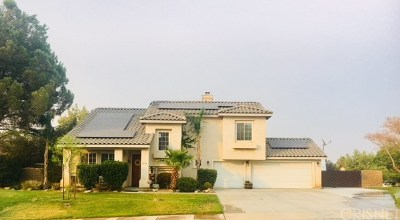 Lancaster Single Family Home For Sale: 42106 Capistrano Place