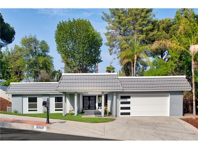 Woodland Hills Single Family Home For Sale: 5352 Orrville Avenue