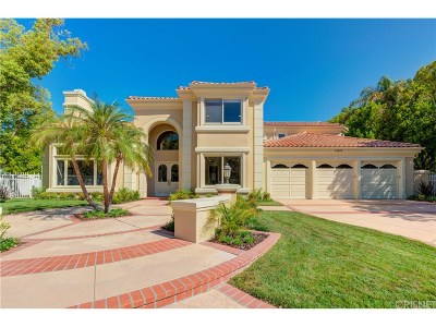 Calabasas Single Family Home For Sale: 25619 Melbourne Court