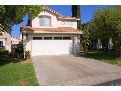 Canyon Country Single Family Home For Sale: 26510 Snowbird Place