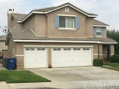 Los Angeles County Single Family Home For Sale: 36543 Palomino Court East