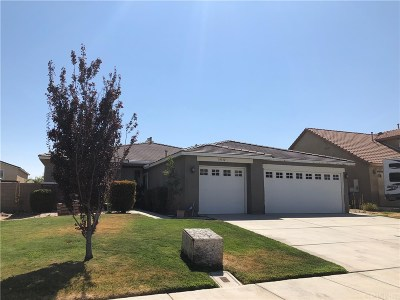 Palmdale Single Family Home For Sale: 39332 Kennedy Drive