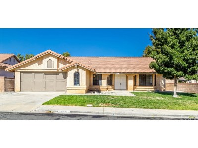 Palmdale Single Family Home For Sale: 4831 Paseo Fortuna