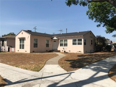 Los Angeles County Single Family Home For Sale: 2891 Maine Avenue