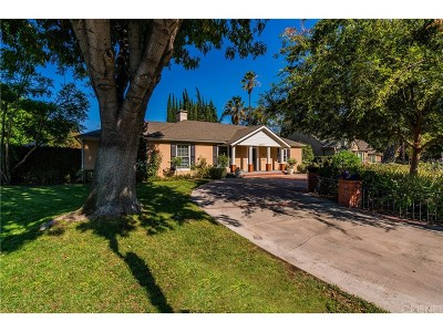 Toluca Lake Single Family Home For Sale: 4554 Sancola Avenue
