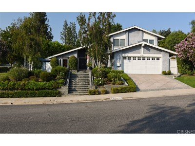 Calabasas Single Family Home For Sale: 22761 Carsamba Drive