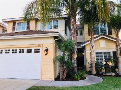 Stevenson Ranch Single Family Home For Sale: 25709 Wilde Avenue