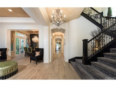 Calabasas Single Family Home For Sale: 25490 Prado De Las Bellotas