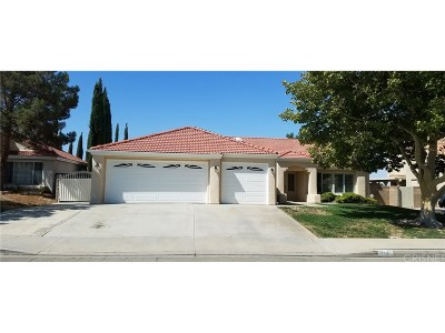 Lancaster Single Family Home For Sale: 5847 Almond Valley Way