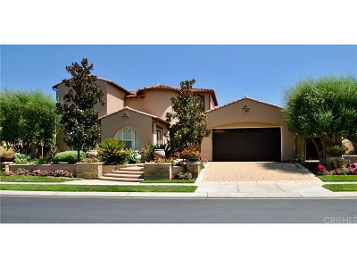 Calabasas Single Family Home For Sale: 3970 Prado Del Trigo