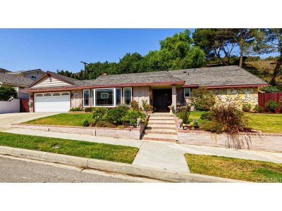 Simi Valley Single Family Home For Sale: 1593 Branch Avenue