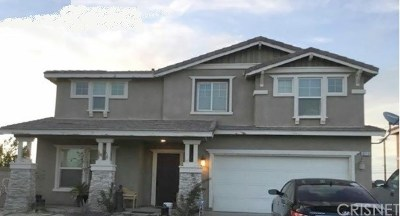 Palmdale Single Family Home For Sale: 6213 Atlas Way