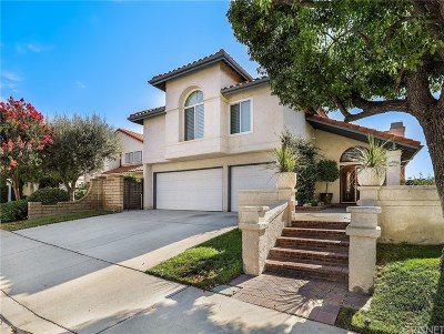Newhall Single Family Home For Sale: 24222 Cary Court