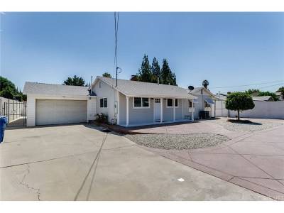 Northridge Single Family Home For Sale: 8342 Wilbur Avenue