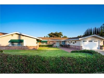 Woodland Hills Single Family Home For Sale: 20544 Califa Street